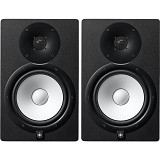 YAMAHA Monitor Speaker System Pair [HS8] - Black - Monitor Speaker System Active